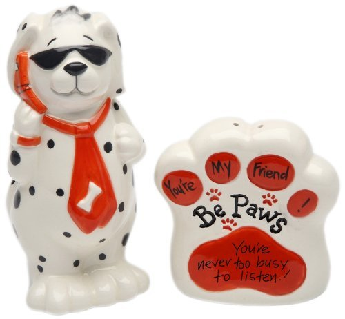 Be Paws You're My Friend Salt and Pepper Set,